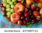 Fruit Plate With Nectarine  ...