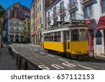 lisbon portugal. 05 june 2017... | Shutterstock . vector #657112153