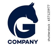 horse and g company linked... | Shutterstock .eps vector #657125977