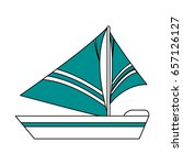 Sailboat Icon Design