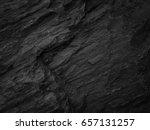 dark stone slate background or ... | Shutterstock . vector #657131257