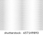 abstract halftone dotted... | Shutterstock .eps vector #657149893
