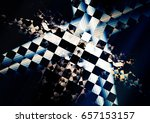 Speed Abstract Background With...