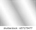 abstract halftone dotted... | Shutterstock .eps vector #657175477