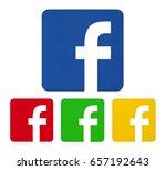 valencia  spain    june  08 ... | Shutterstock . vector #657192643
