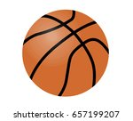 basketball illustration | Shutterstock . vector #657199207