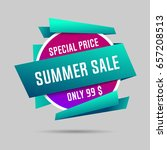 summer specials sale banner ...   Shutterstock .eps vector #657208513