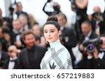 fan bingbing attends 'amant...   Shutterstock . vector #657219883