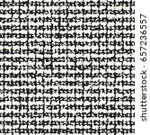 abstract mottled stroke... | Shutterstock .eps vector #657236557
