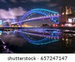 reflection of the sydney... | Shutterstock . vector #657247147