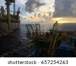 cendor oil field  8 may 2017 ... | Shutterstock . vector #657254263