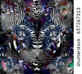 Leopard Texture Mix