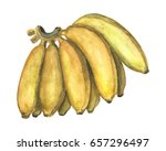 Yellow Banana Bunch By...