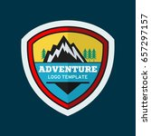 adventure badge graphic design... | Shutterstock .eps vector #657297157