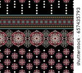 Geometric Ornament For Weaving...