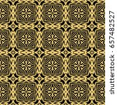 seamless pattern in vintage... | Shutterstock .eps vector #657482527