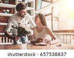surprise  beautiful romantic... | Shutterstock . vector #657538837