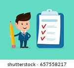happy smiling businessman with