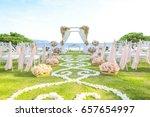 wedding set up | Shutterstock . vector #657654997