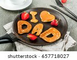 celebrating father's day.... | Shutterstock . vector #657718027
