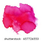 colorful abstract watercolor... | Shutterstock .eps vector #657726553