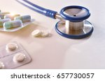 concept of prescription of... | Shutterstock . vector #657730057