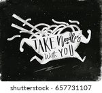 poster running plate in vintage ... | Shutterstock .eps vector #657731107