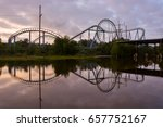 abandoned theme park six flags... | Shutterstock . vector #657752167