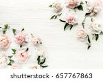 floral pattern made of...   Shutterstock . vector #657767863