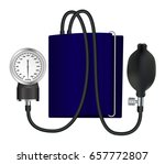tonometer  medical device for... | Shutterstock .eps vector #657772807