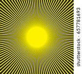 Sunburst Radial Pattern In...