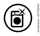 washing machine vector icon | Shutterstock .eps vector #657782443