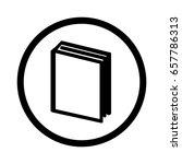vector book icon | Shutterstock .eps vector #657786313