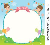 party invitation template... | Shutterstock .eps vector #657804673