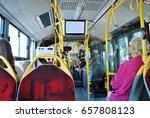 interior of empty modern... | Shutterstock . vector #657808123