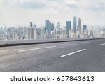 roads  roads  and the beautiful ... | Shutterstock . vector #657843613