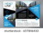 business brochure. flyer design.... | Shutterstock .eps vector #657846433