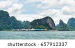 panyee island at phang nga... | Shutterstock . vector #657912337
