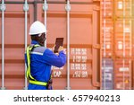 foreman control loading... | Shutterstock . vector #657940213