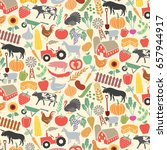 background pattern with... | Shutterstock .eps vector #657944917