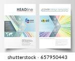 business templates for brochure ... | Shutterstock .eps vector #657950443