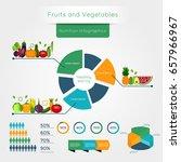 healthy vegetables infographics ... | Shutterstock .eps vector #657966967