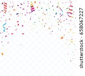 colorful celebration background ...   Shutterstock .eps vector #658067227