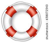 lifebuoy | Shutterstock .eps vector #658072543