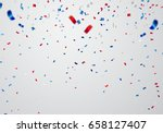 celebration background template ... | Shutterstock .eps vector #658127407