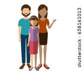 avatar family icon | Shutterstock .eps vector #658161013