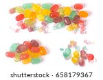 colorful candy | Shutterstock . vector #658179367