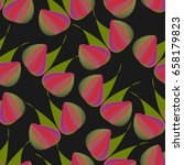 abstract seamless pattern with... | Shutterstock .eps vector #658179823