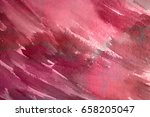 abstract watercolor painted... | Shutterstock . vector #658205047