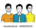 vector illustration character... | Shutterstock .eps vector #658230103